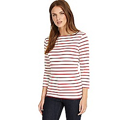 Phase Eight - Ivory stella stripe top