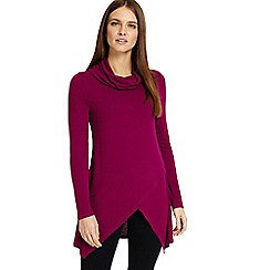 Phase Eight - Purple Tara roll neck top