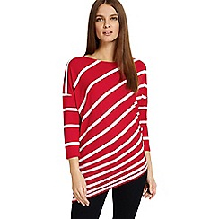 Phase Eight - 3/4 sleeves amy asymmetric top