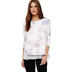 Phase Eight - Shea shadow floral print top
