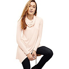 Phase Eight - Pink tara roll neck top