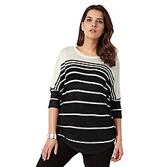 Studio 8 - Black and Ivory janet top