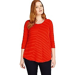 Studio 8 - Sizes 12-26 Orange myah top