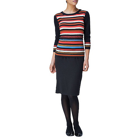 Phase Eight - Caitlin Embellished Stripe Jumper