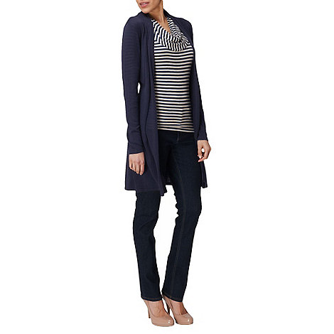 Phase Eight - Navy Kirsty Pointelle Cardigan