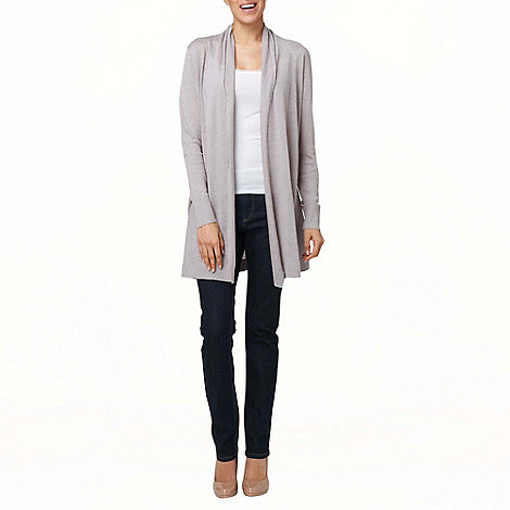 Phase Eight - Silver Natalia Linen Cardigan