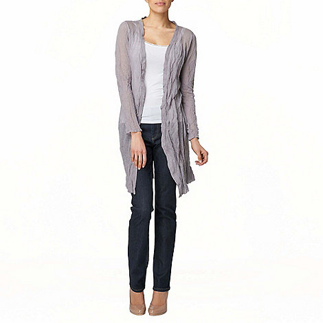 Phase Eight - Silver Caroline Crinkle Cardigan