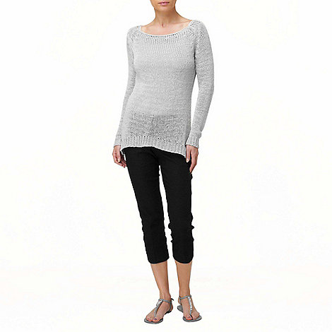 Phase Eight - Silver slim tape jumper