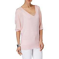 Phase Eight - Soft Pink bertie batwing jumper