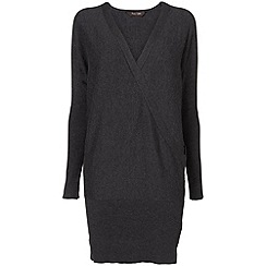 Phase Eight - Charcoal Marl wrap brianna tunic