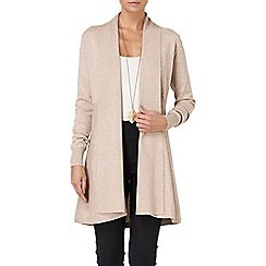 Phase Eight - Oatmeal lili longline cardigan