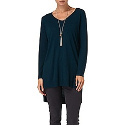 Phase Eight - Petrol savanna step hem tunic