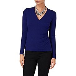 Phase Eight - Royal Purple wilma wrap jumper