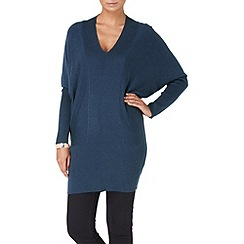 Phase Eight - Navy Marl brianna blouson tunic