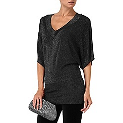 Phase Eight - Black kareena kimono knit jumper