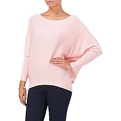 Phase Eight - Pink long sleeve becca batwing jumper