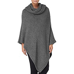 Phase Eight - Grey cashel cowl poncho