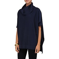 Phase Eight - Navy petula poncho