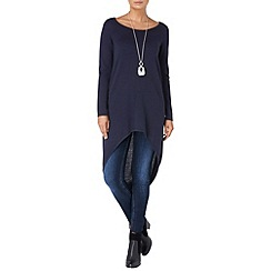 Phase Eight - Navy katrina ellipse hem tunic