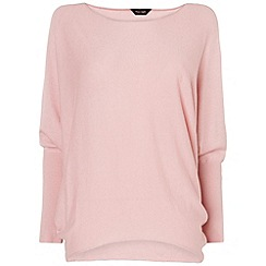 Phase Eight - Mushroom marl becca batwing long sleeve jumper