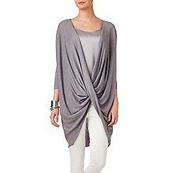 Phase Eight - Silver sheena twist knit jumper