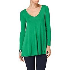 Phase Eight - Palm v neck cali swing knit jumper