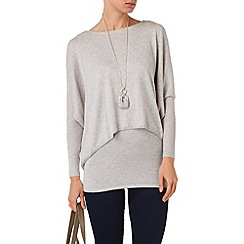 Phase Eight - Charley crop double layer knit