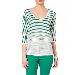Phase Eight - Sade stripe knit top