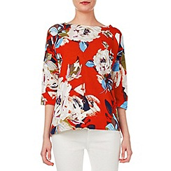 Phase Eight - Dara Floral Print Knit Top