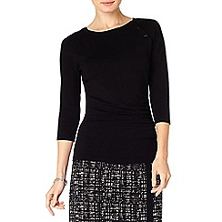 Phase Eight - Bianka button knit top