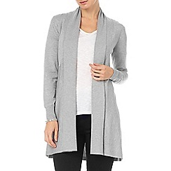 Phase Eight - Grey Marl lili longline cardigan