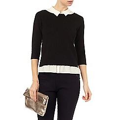 Phase Eight - Suzetta silk shirt knit