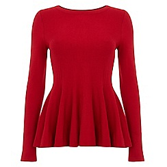 Phase Eight - Maritza peplum knit top
