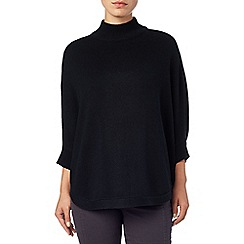 Phase Eight - Navy vanessa cape knit jumper