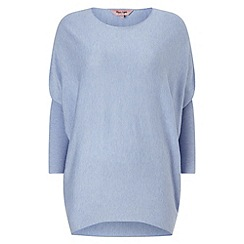Phase Eight - Soft Blue becca batwing long sleeved jumper