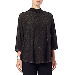 Phase Eight - Black shimmer melany poncho