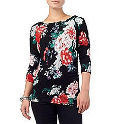 Phase Eight - Kaitlin print knit top
