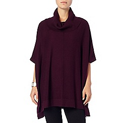 Phase Eight - Deep Wine petula poncho