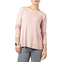 Phase Eight - Dusty Pink esta swing knit jumper
