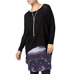 Phase Eight - Black colleen cloud tunic dress