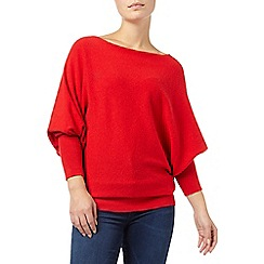 Phase Eight - Red britney batwing jumper