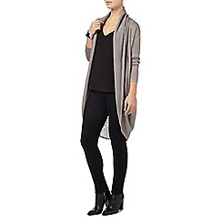 Phase Eight - Silver Grey eira ellipse hem cardigan