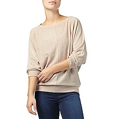 Phase Eight - Pink and Grey claudina colour block knit jumper