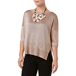 Phase Eight - Mea Shimmer Necklace Knit Jumper