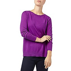 Phase Eight - Magenta esta swing knit jumper
