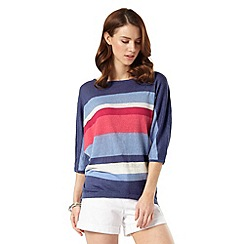 Phase Eight - Sarah Stripe Linen Knit Jumper