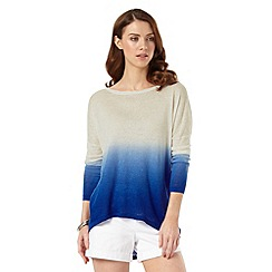 Phase Eight - Dip Dye Elen Ellipse Jumper