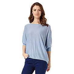 Phase Eight - Linen Becca Batwing Jumper