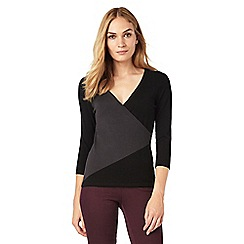 Phase Eight - Colourblock Wilma Wrap Top