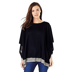 Phase Eight - Cascatta Dbl Layer Poncho